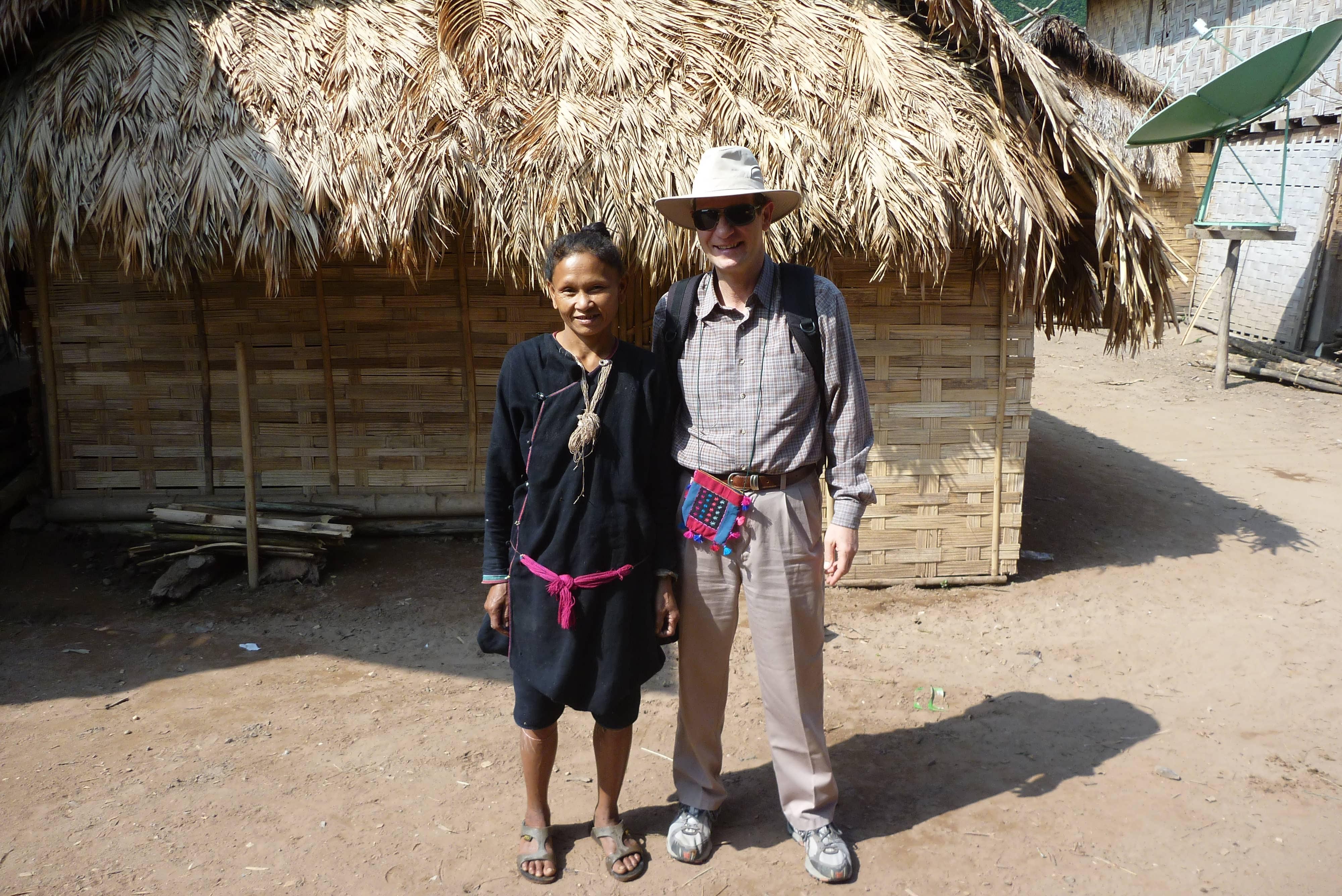Ban Soptud Lanten village in Luang Namtha