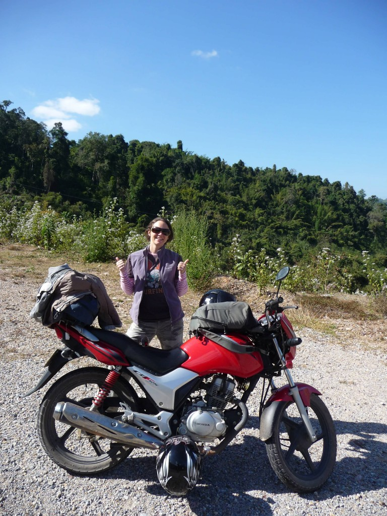 Road from Luang Namtha to Huay Xai