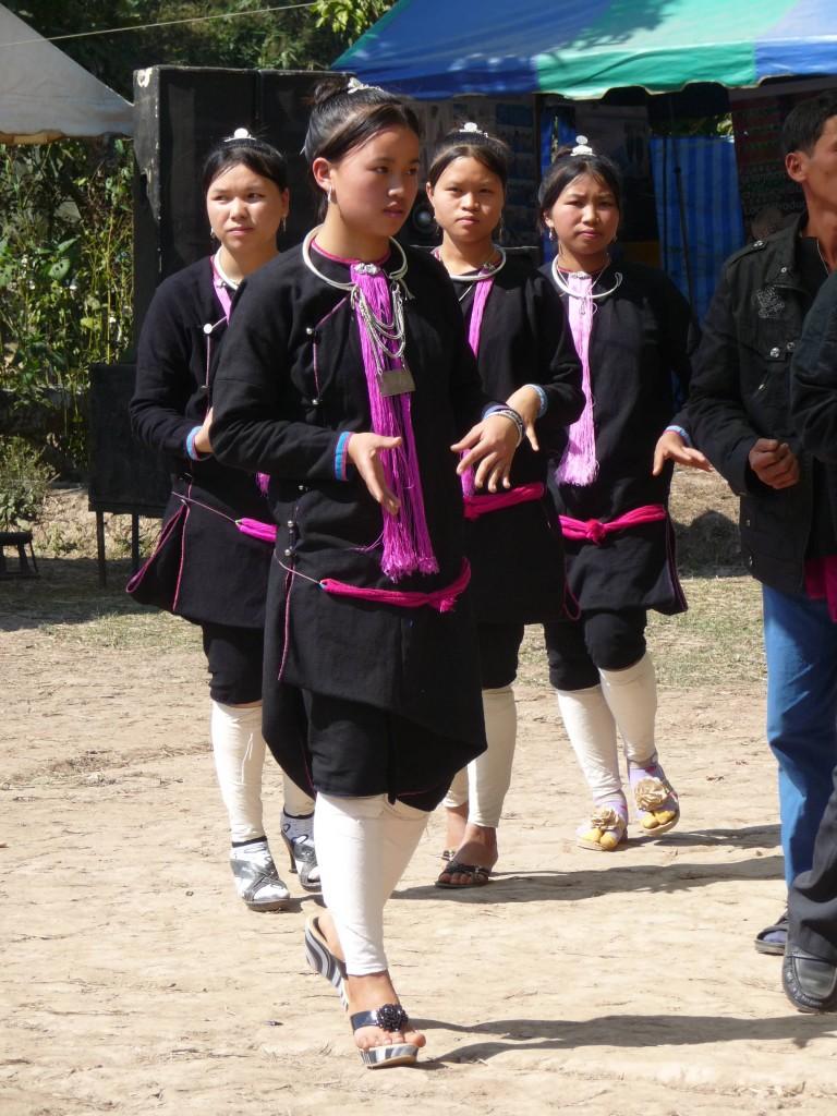 Lanten women, Luang Namtha