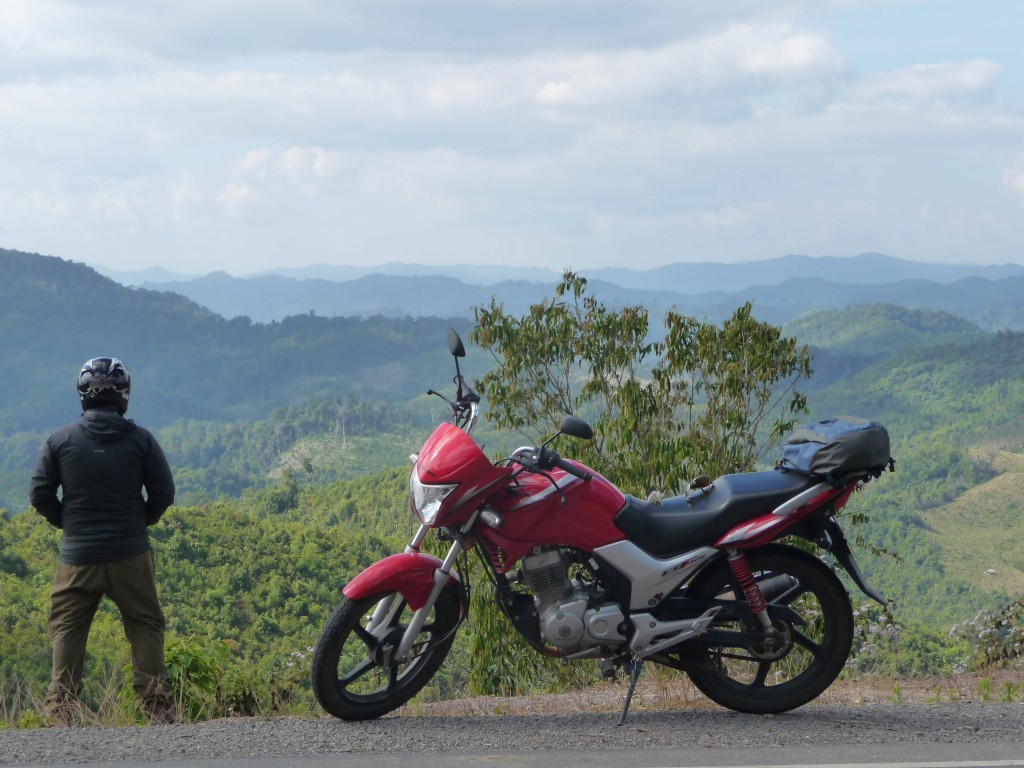 Luang Namtha to Huay Xai road - stunning