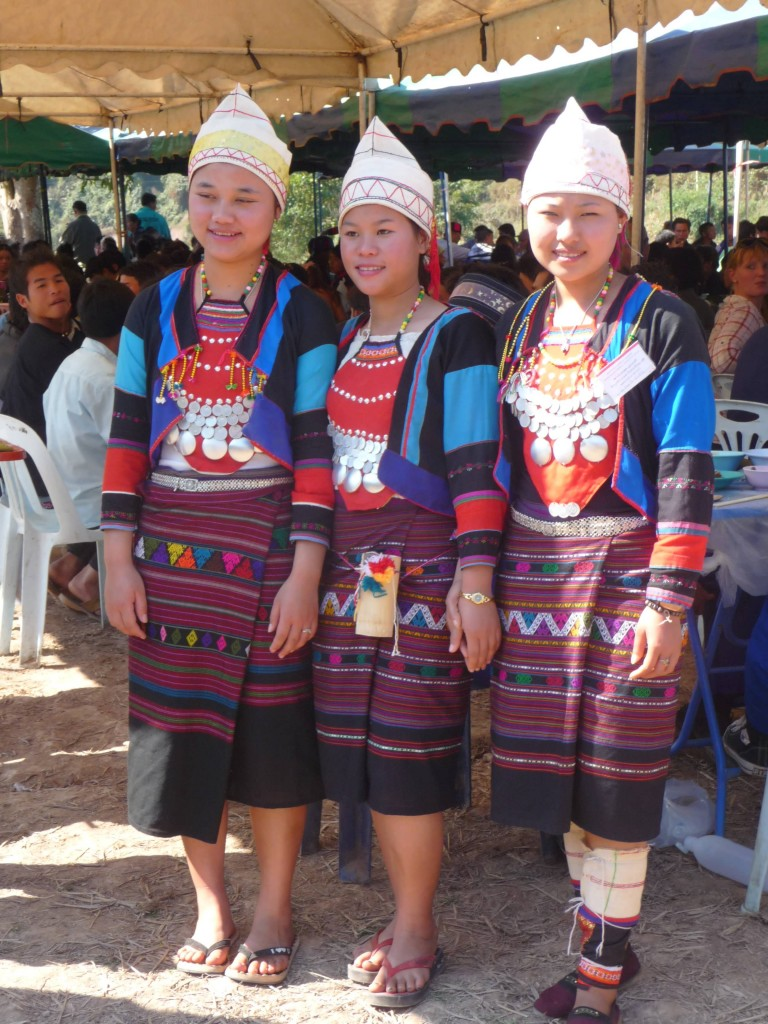Sida women, Luang Namtha