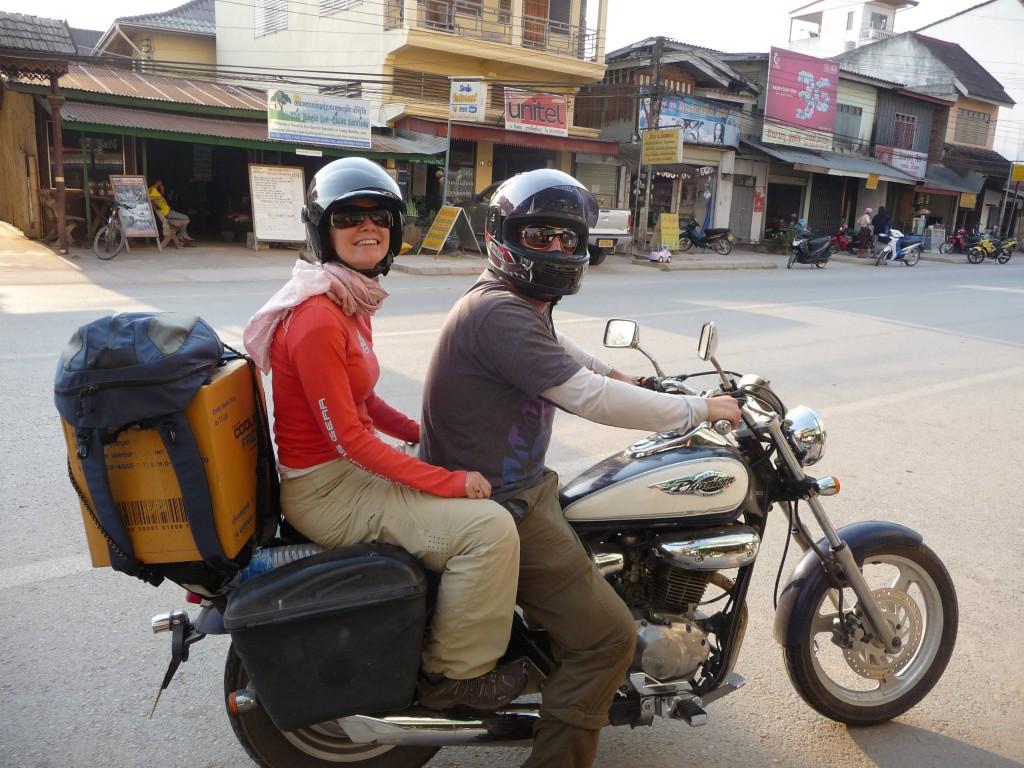 Motorbiking Luang Namtha