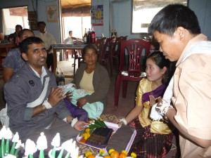 Baci Ceremony Luang Namtha