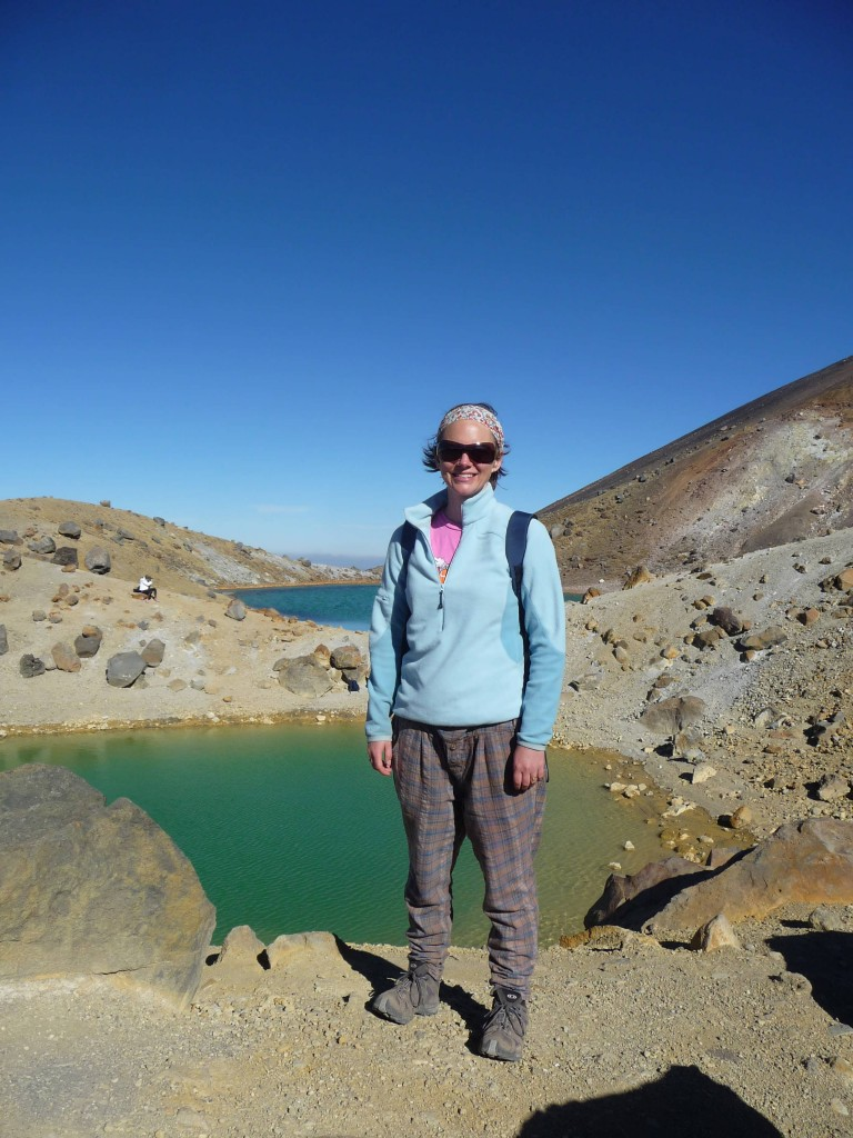 Emerald Lake, Tongariro Crossing