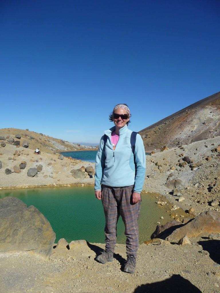 Emerald Lake, Tongariro Crossing