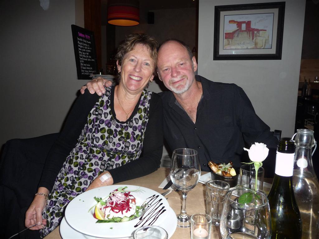 Matakana Kitchen with Karen's parents