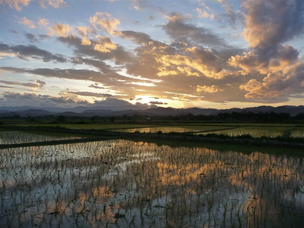 Luang Namtha - another awesome sunset