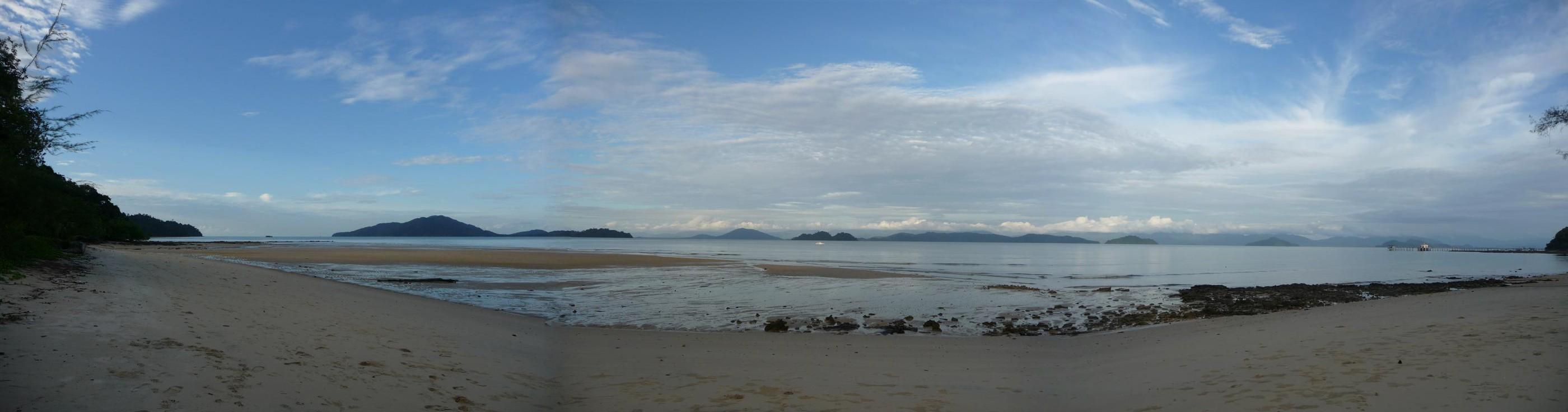 Koh Payam our beachfront