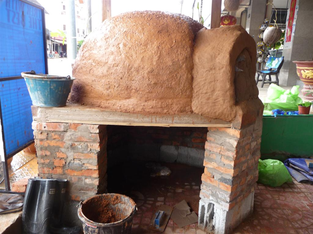 Forest Retreat Laos Pizza Oven