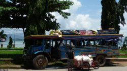 Bus in Kawthaung Myanmar