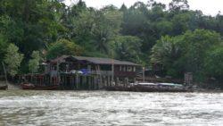 Andaman sea between Thailand and Myanmar