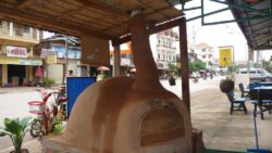 Pizza oven in Luang Namtha