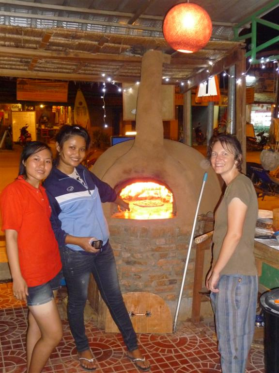Pizza comes to Luang Namtha