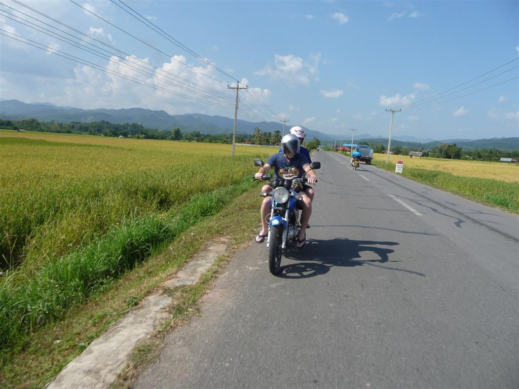 Luang Namtha by motorbike
