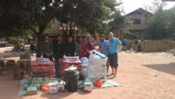 Village supplies for homestay