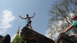Luang Namtha's old stupa