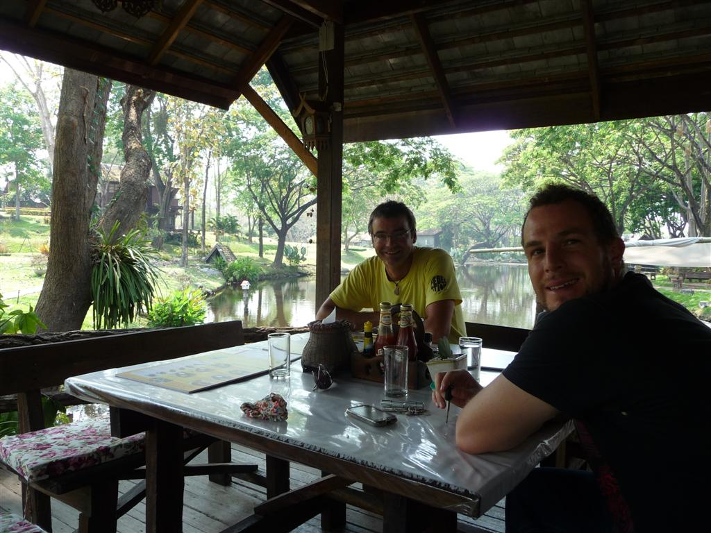 Lunchtime near Doi Inthanon