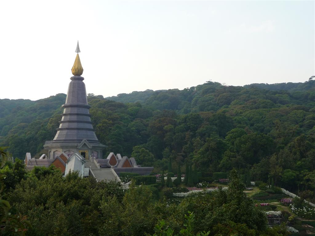 Doi Inthanon beautiful stupas