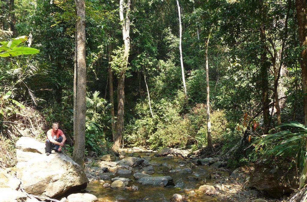 Waterfall Doi Inthanon