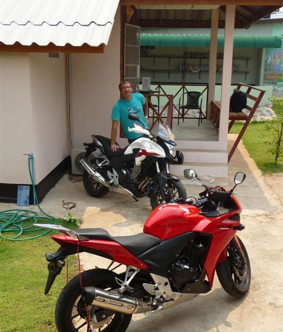 Honda CB500X and CBR500