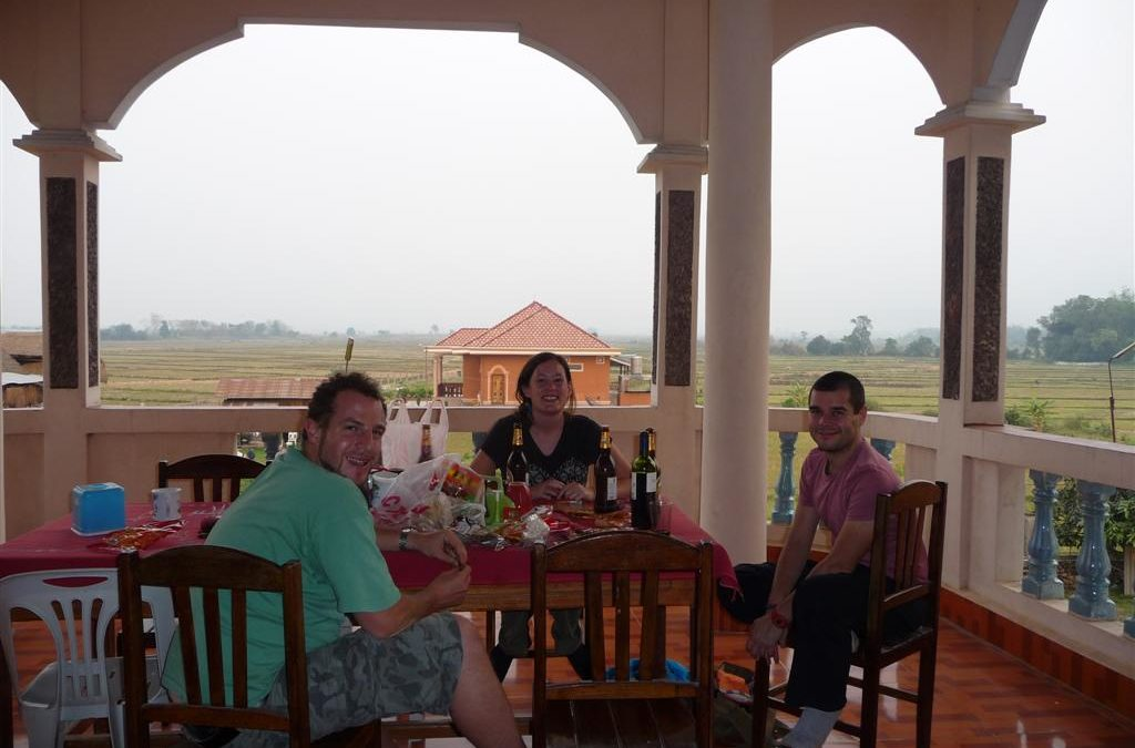 Hanging out in northern Laos