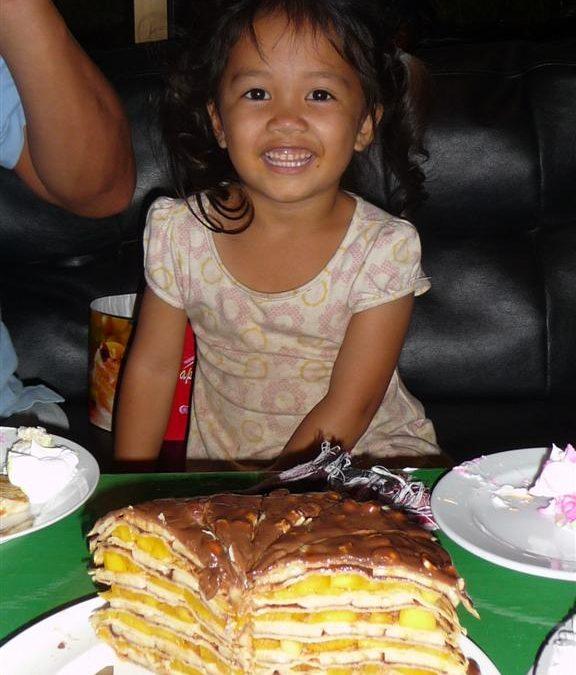 Mona at Karen's birthday