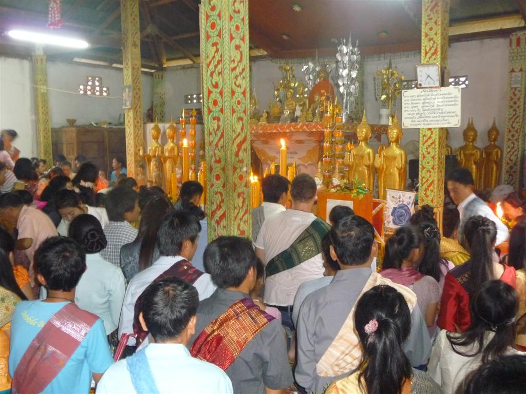 Start of Lent of Luang Namtha
