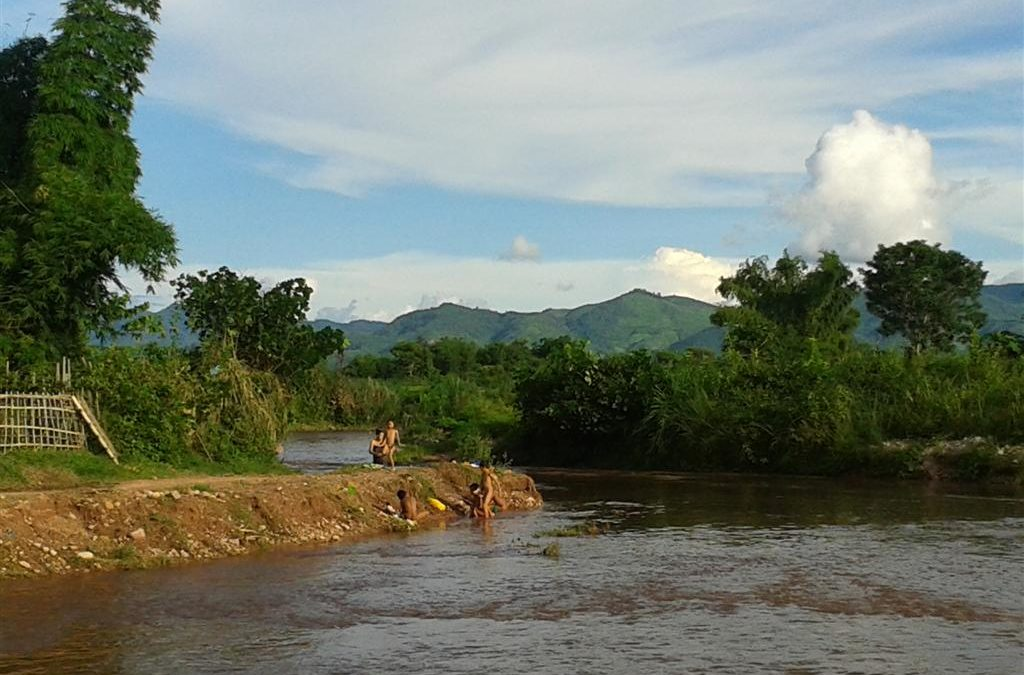 River fun time in Luang Namtha