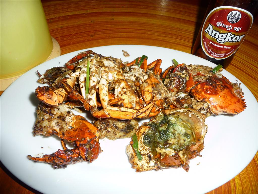Cambodian Black Pepper Crab