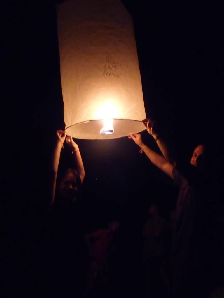 Loi Krotung festival in Luang Namtha