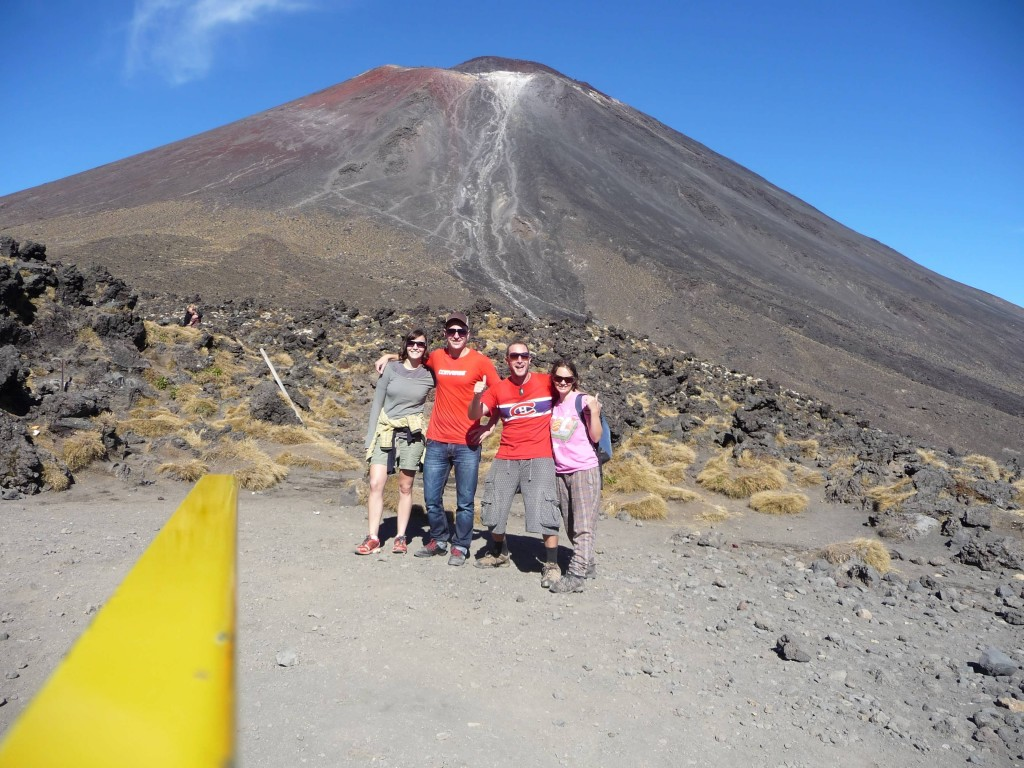 Walking the Tongariro Crossing