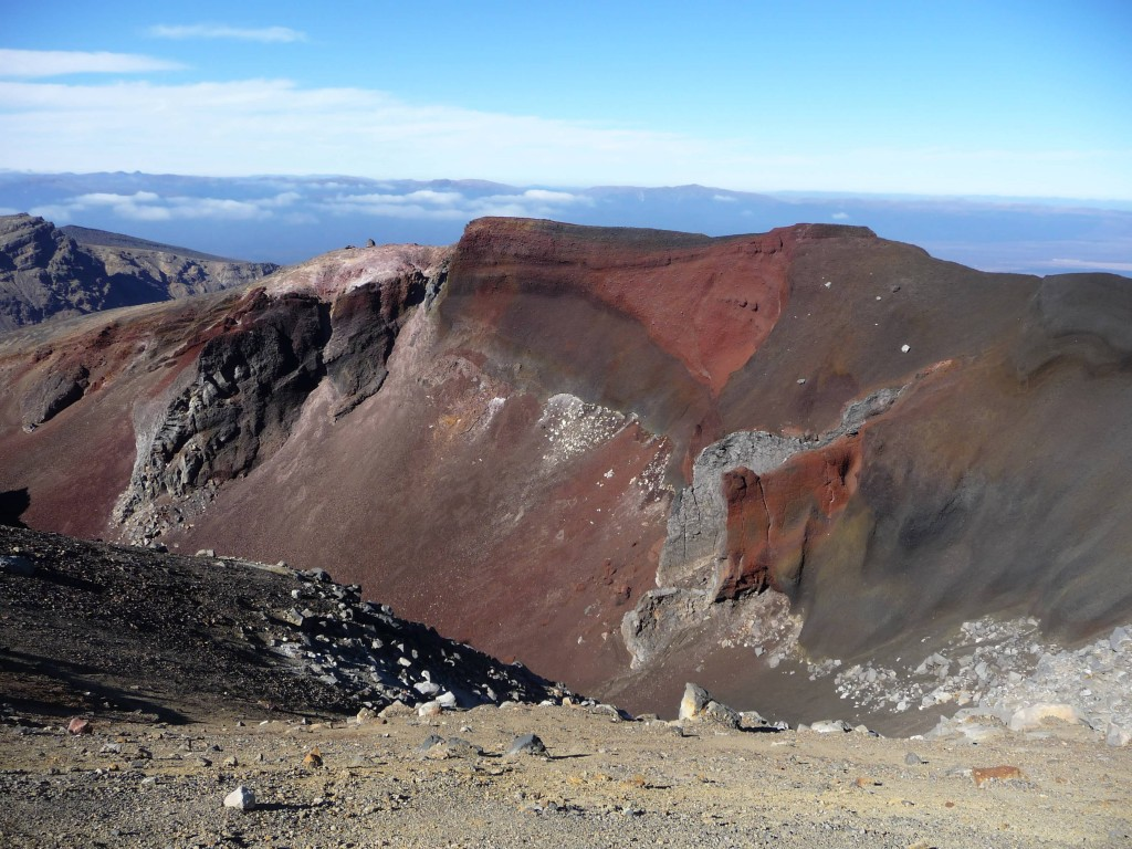 Crater on the Tongariro Crossing