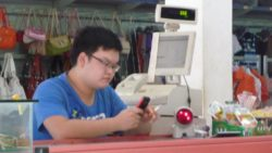 Chinese supermarket in Muang Sing