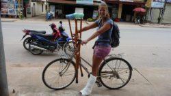 Luang Namtha's wheelchair