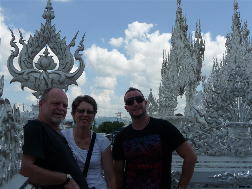 White Temple, Chiang Rai Thailand