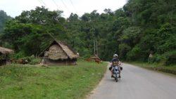 Riding to Muang Sing