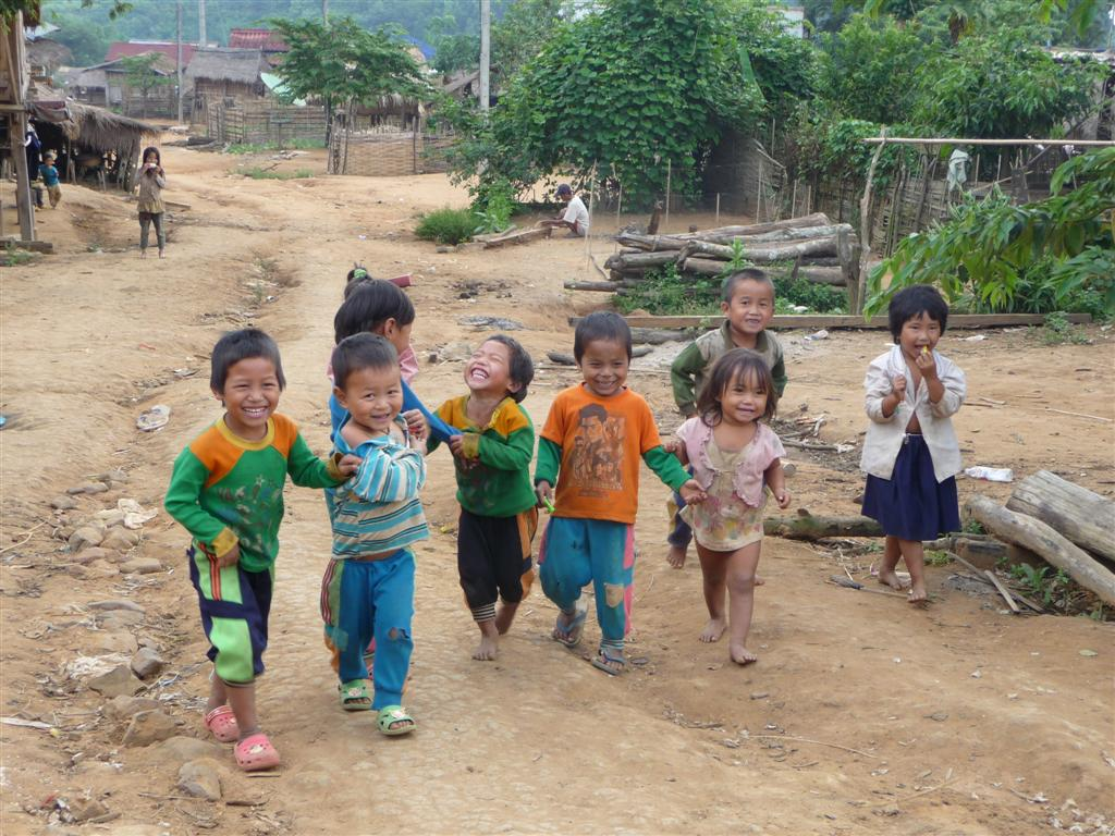 Muang Sing (Luang Namtha) Ahka village
