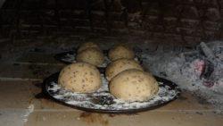 Homemade bread in Luang Namtha