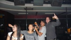 Chinese disco in Luang Namtha