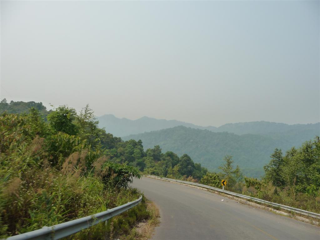 Roads to Mae Hong son
