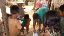 Ahka village Muang Sing