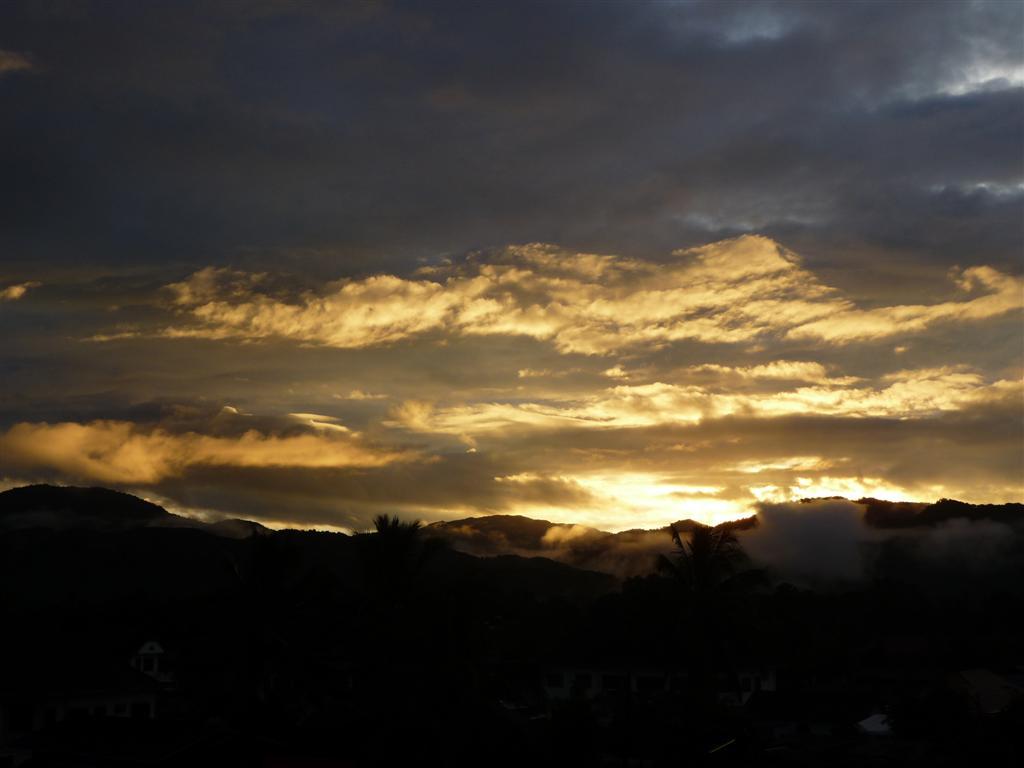 Luang Namtha sunrise
