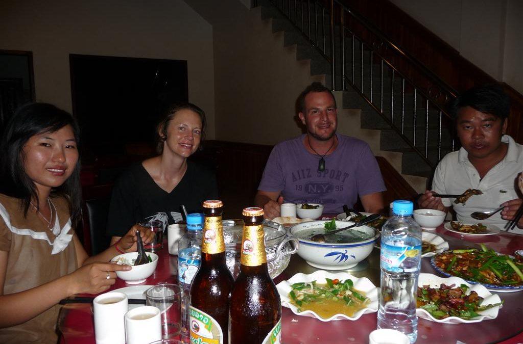 Dinner in Luang Namtha