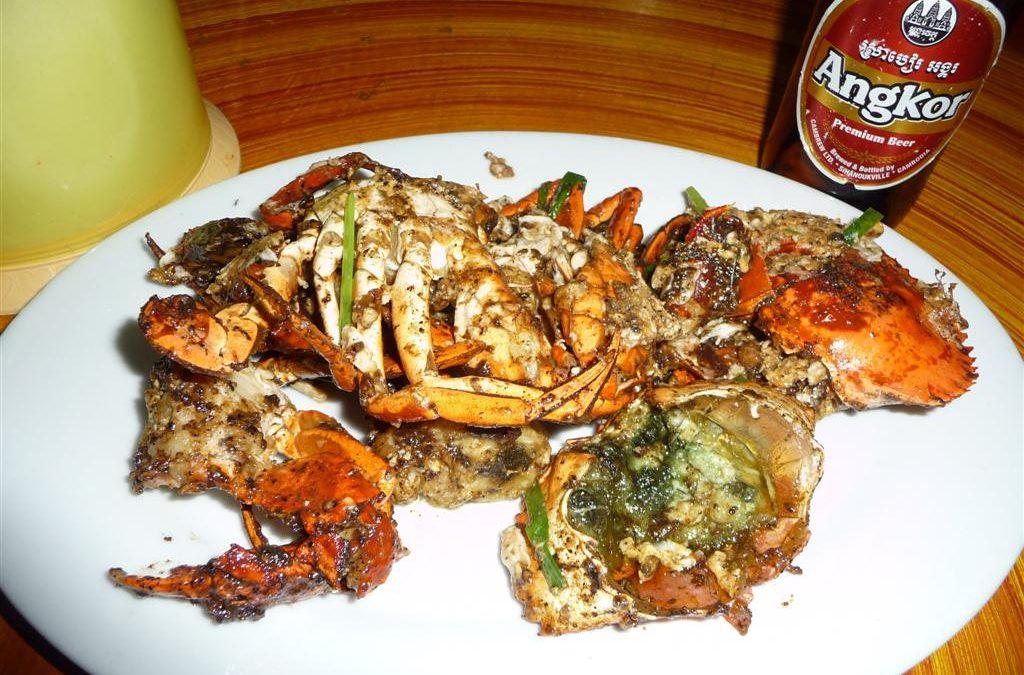 Cambodian Black Pepper Crab
